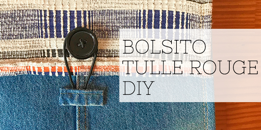 BOLSITO TULLE ROUGE DIY